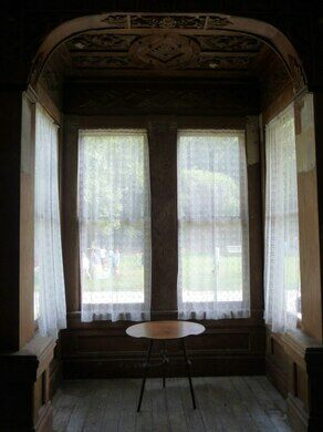 John Ford House, interior.