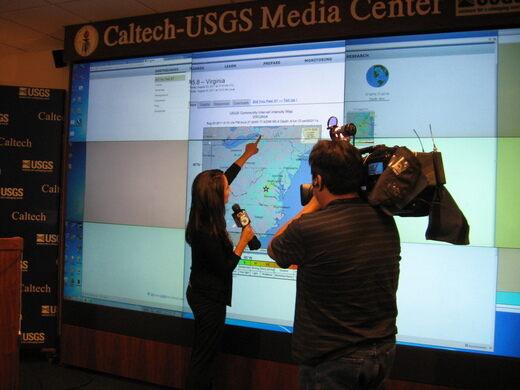 Caltech Seismo Lab Media Center.