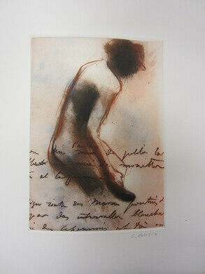 "Charle's Hobson's ""Writing on the body : Degas's words about drawing the figure"""