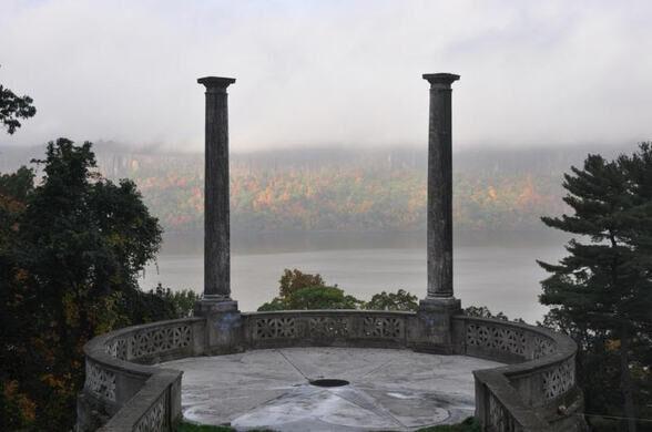The vista at Untermyer Gardens.