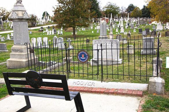 J. Edgar Hoover's final resting spot.