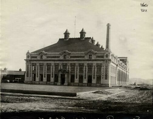 The city's Main Pumping Station, circa 1905.
