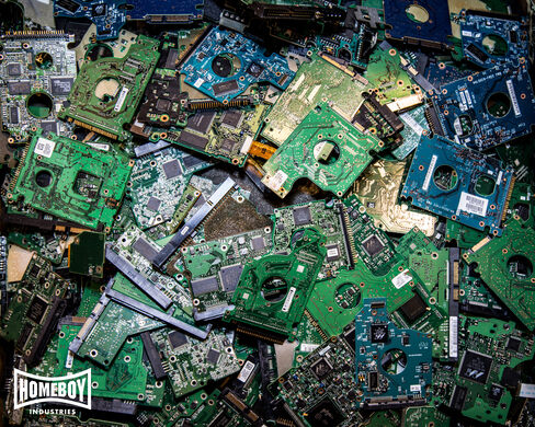 Homeboy Electronics Recycling.