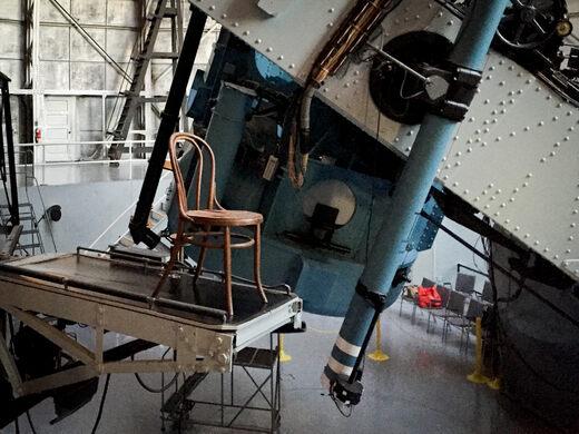 Edwin Hubble's Chair.