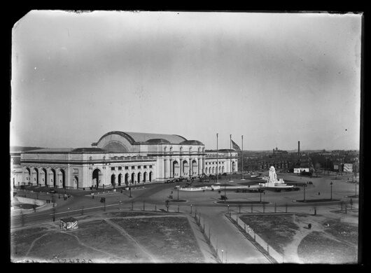 Union Station print, circa 1905-1915.