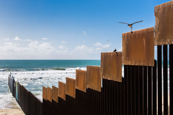 The border wall.