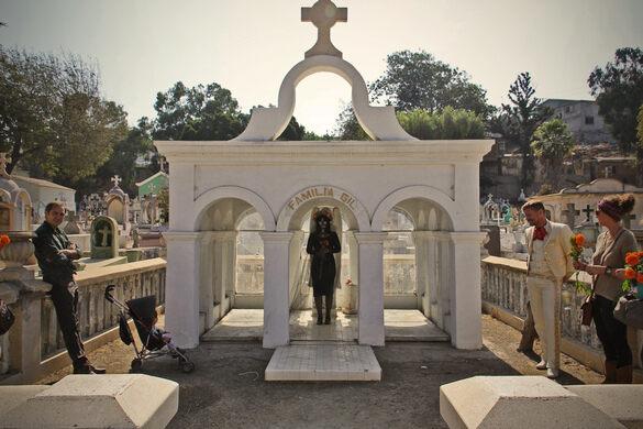 The Gil family crypt at Panteón Puerta Blanca.