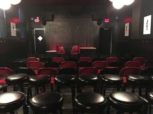 Back room of the Trestle Inn.