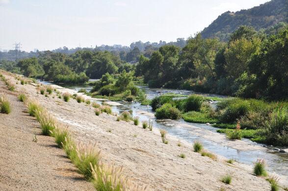 The L.A. River.