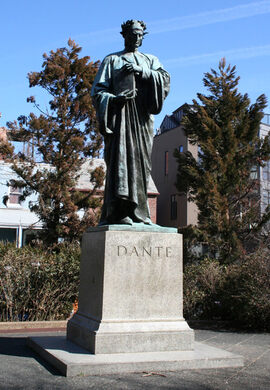 Dante Statue.