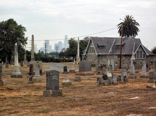 Evergreen Cemetery.