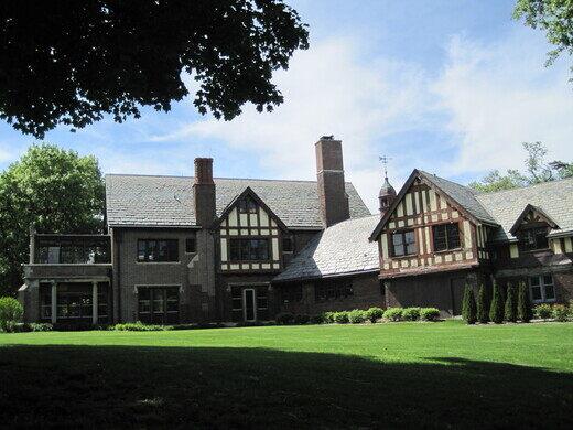 The Mayslake Peabody Estate in Oak Brook, IL.