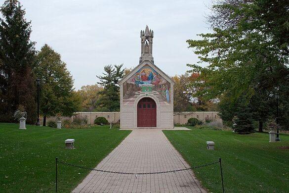 Portiuncula Chapel.