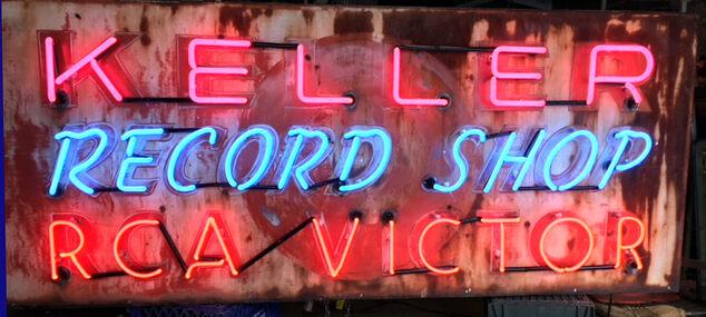 Keller Record Shop.