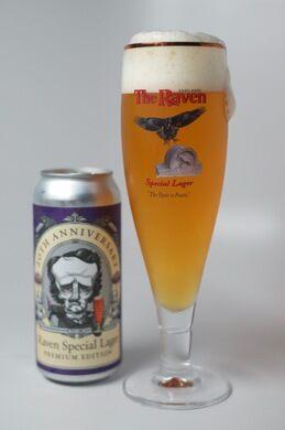 Raven Beer.