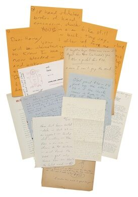 Two decade of correspondence between Hunter S. Thompson and his boyhood friend.