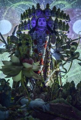 "Diorama #8 ""God's Universal Form."""