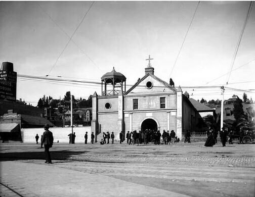 Old Mission Plaza Church.