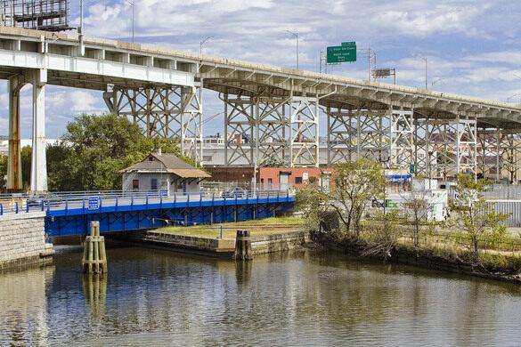 Borden Avenue Bridge.
