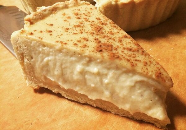 A Spiced Custard Pie From Africa's Southern Tip