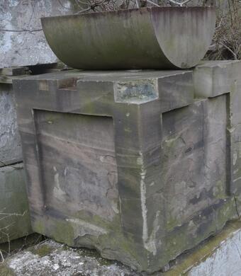The capitol stones.
