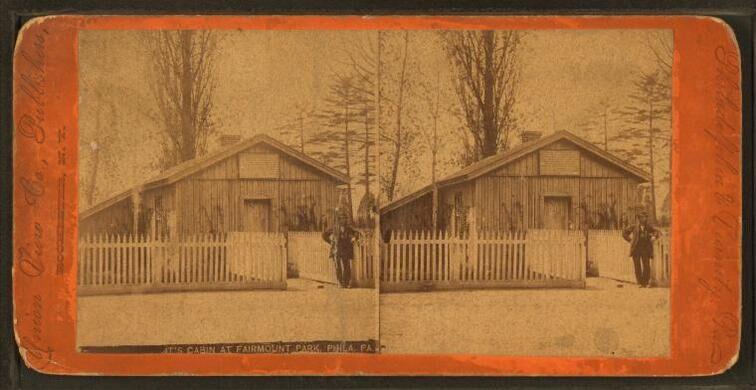 Grant's Cabin at Fairmount Park, Philadelphia.