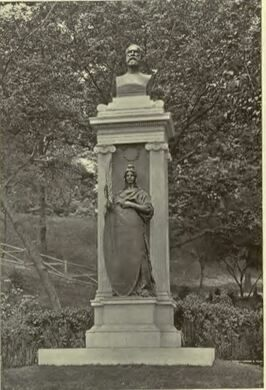 Unveiling of the memorial to General James A. Garfield, Fairmount Park, Philadelphia, May 30, 1896.
