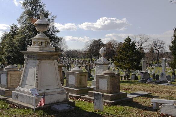 Historic Congressional Cemetery.