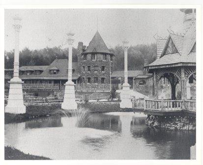 The Chautauqua grounds in 1891.