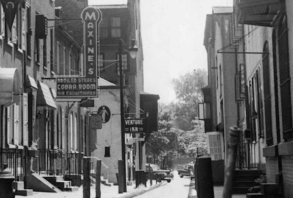 Camac Street, 1950.