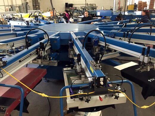 Automatic press.