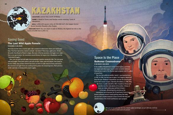 Peek inside The Atlas Obscura Explorer's Guide for the World's Most Adventurous Kid.