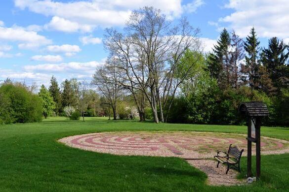 Theosophical Society garden.