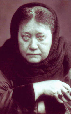Helena Petrovna Blavasty, founder of Theosophy.