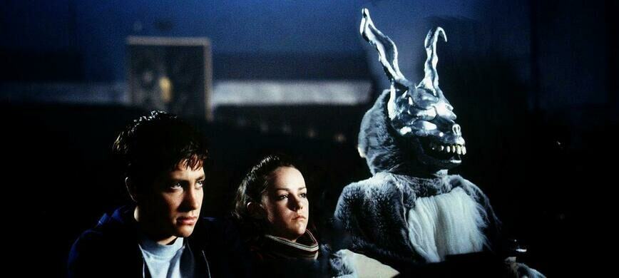 "A still from the 2001 horror film ""Donnie Darko."""