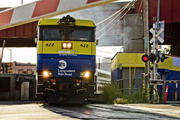 LIRR rail yard.