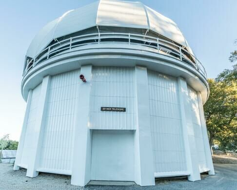 60-inch telescope dome.