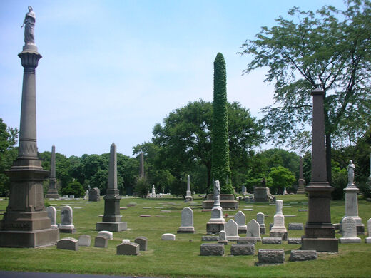 Graceland's Obelisks.