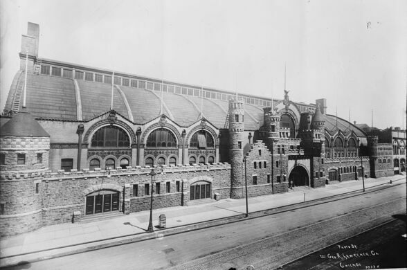 The Chicago Coliseum, original home of the First Ward Ball.