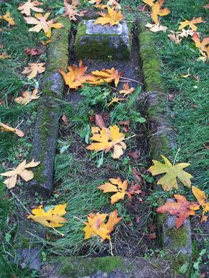 Comet Lodge cemetery grave.