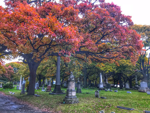 One of the city's most fascinating cemeteries