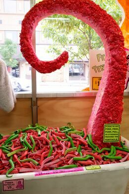 Store tentacle display.