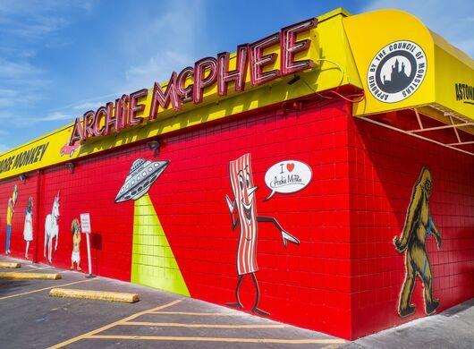 Archie McPhee building.