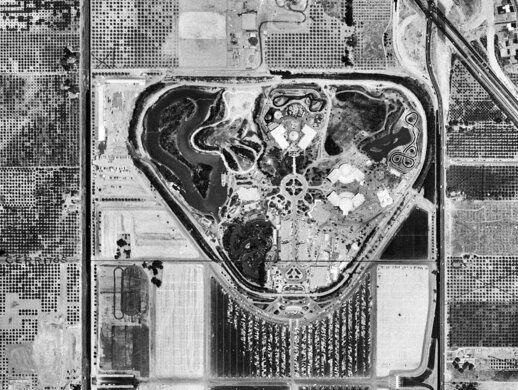 Disneyland, Anaheim, July 15, 1955.