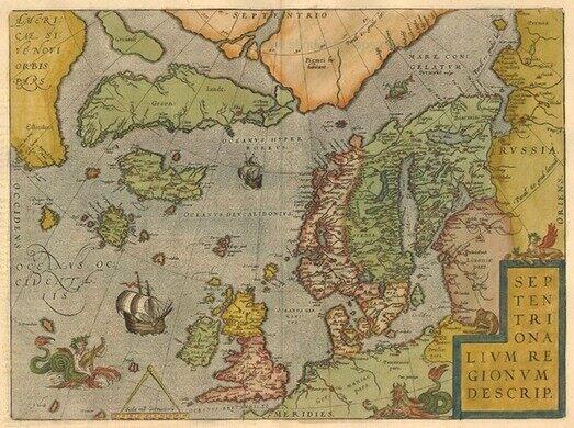 Ortelius North Sea.