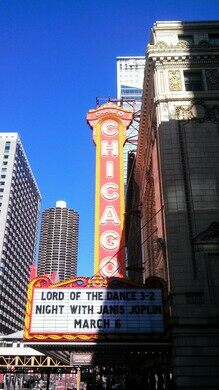 The legendary marquee is one of the most popular spots for selfies in Chicago.