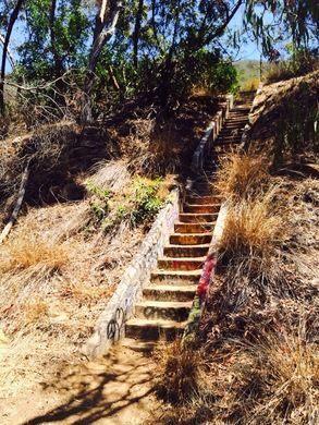 Murphy Ranch steps.
