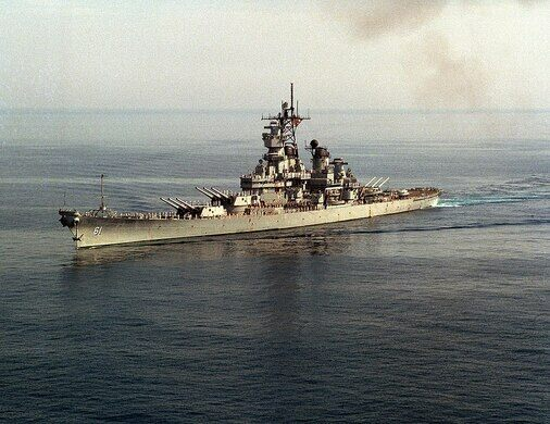 The USS Iowa