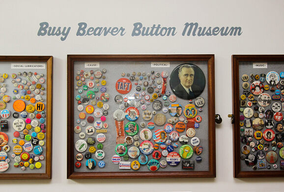 Behold the Wall of Buttons!