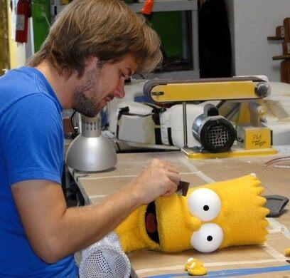 Building Bart Simpson
